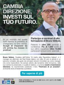 Cambia direzione, investi sul tuo futuro