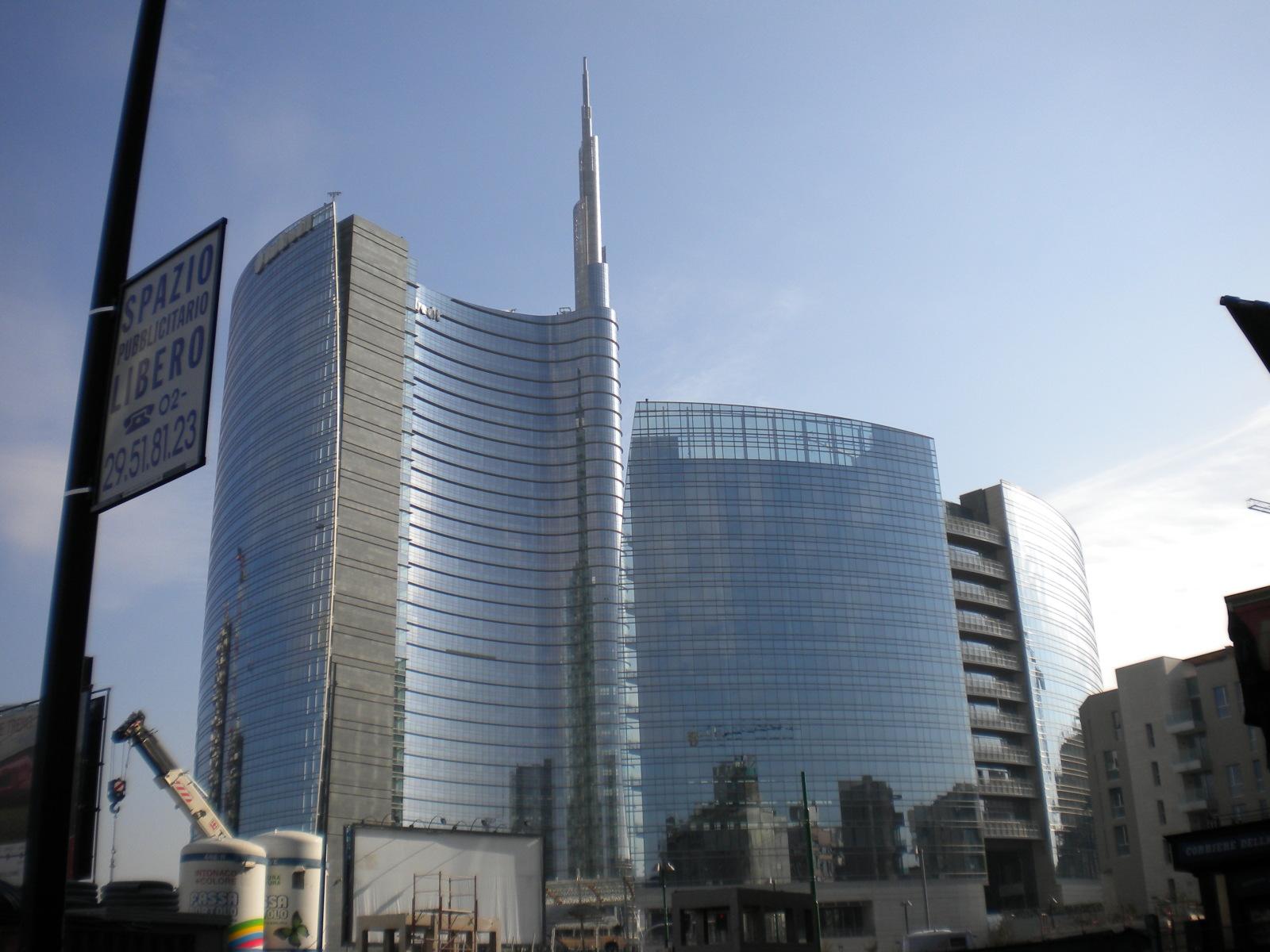 Porta Nuova Milano per rilanciare l' economia in Italia 2015
