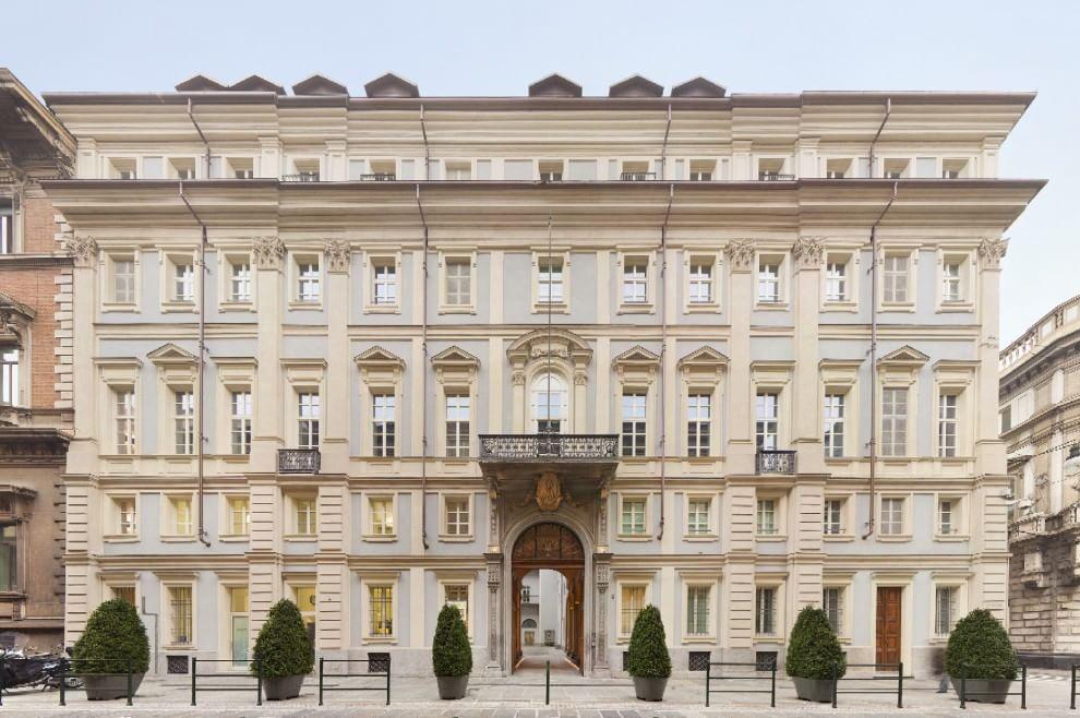 Benefici culturali restauro Palazzo Valperga Galleani Torino